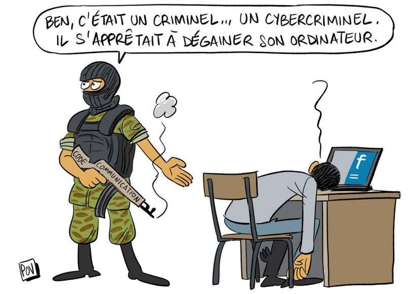 Cybercriminalité par Pov